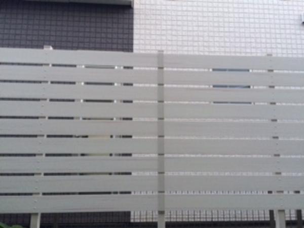 千葉県印西市 H様邸 F&F樹脂フェンスで可愛く!!のサムネイル