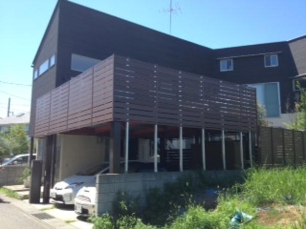 茨城県龍ヶ崎市 N様邸 目隠しフェンス設置工事のサムネイル
