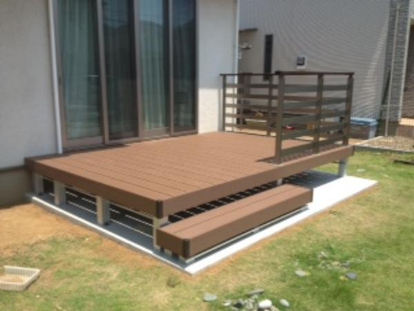 茨城県常総市 G様邸 樹脂デッキひとと木施工のサムネイル