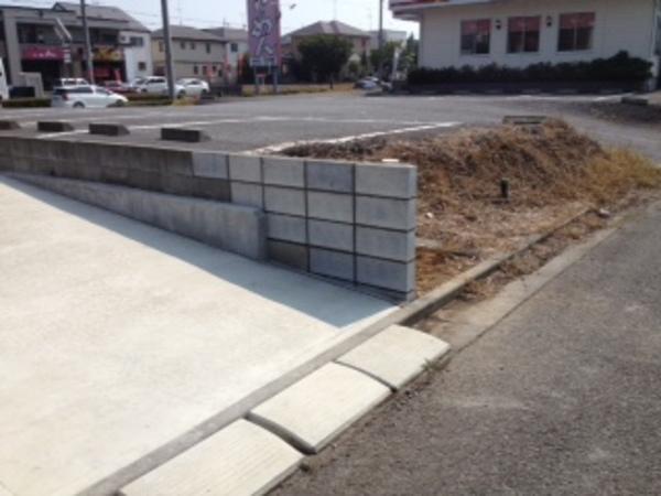 茨城県龍ヶ崎市のE様邸 ブロック復旧工事