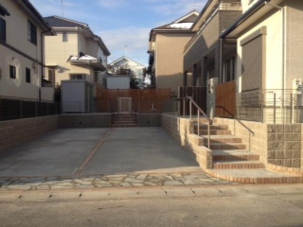 茨城県龍ヶ崎市 新築外構工事 2013年12月~2月