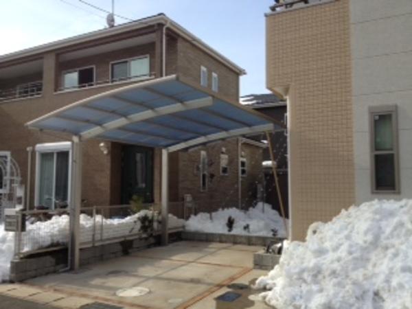 千葉県白井市 カーポート施工2014年2月のサムネイル
