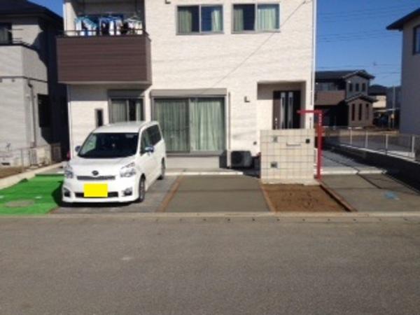 茨城県取手市 新築外構工事 2014年2月~3月