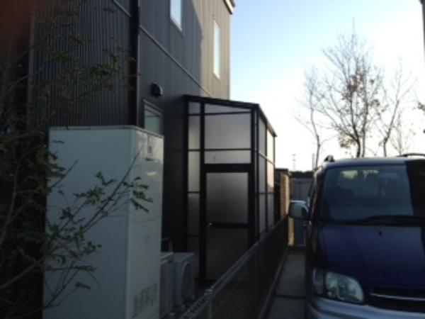 茨城県つくば市 ストックヤード・オイトック施工 2014年3月のサムネイル