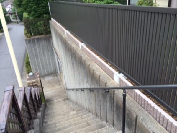茨城県龍ヶ崎市 N様邸 LIXILライシスフェンス4型施工