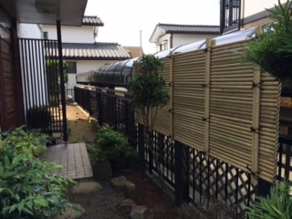 茨城県つくば市 I様邸 スチールフェンスをアルミフェンスへ