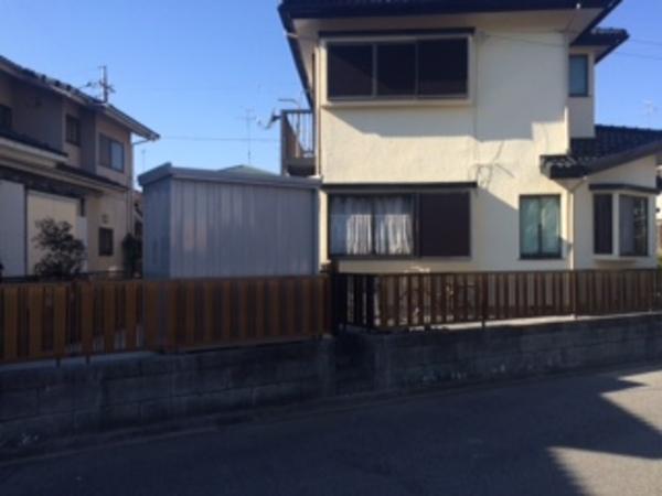 印旛郡栄町 Y様邸 フェンス&土間コンクリート施工