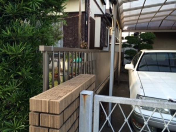 印旛郡栄町 生垣撤去&フェンス施工!のサムネイル