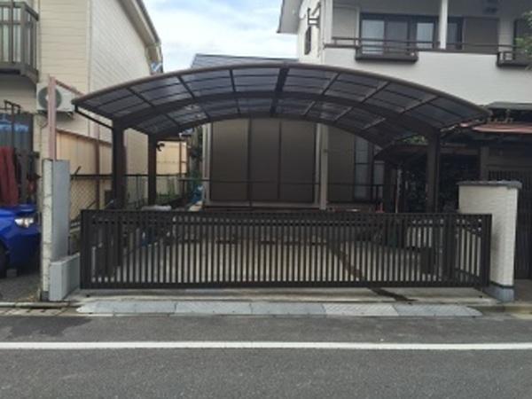 東京都板橋区 I様邸 オーバードア取り替え!