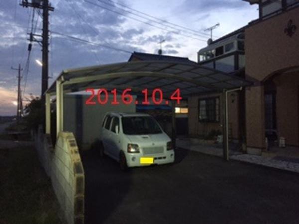 茨城県つくばみらい市 N様邸 2台用カーポート施工!