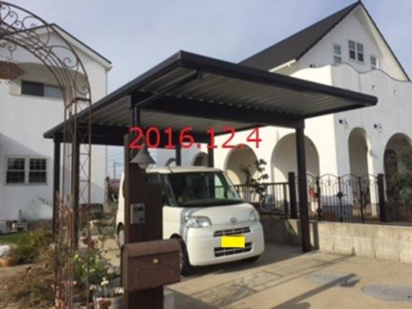 千葉県印西市 O様邸 カーポート&囲い商品施工!