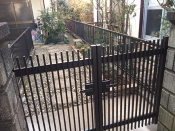 茨城県取手市 W様邸 老朽化したフェンス取替工事!