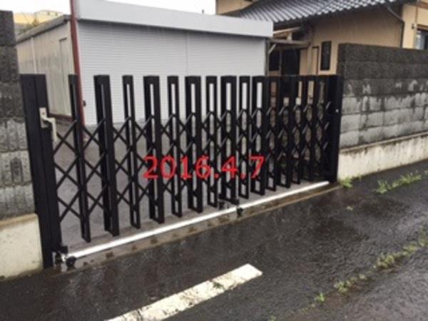 茨城県水戸市 O様邸 三和シャッター&ゲート修理!