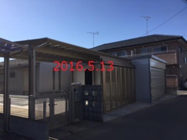 茨城県牛久市 Y様邸 屋根が有るっていいです!
