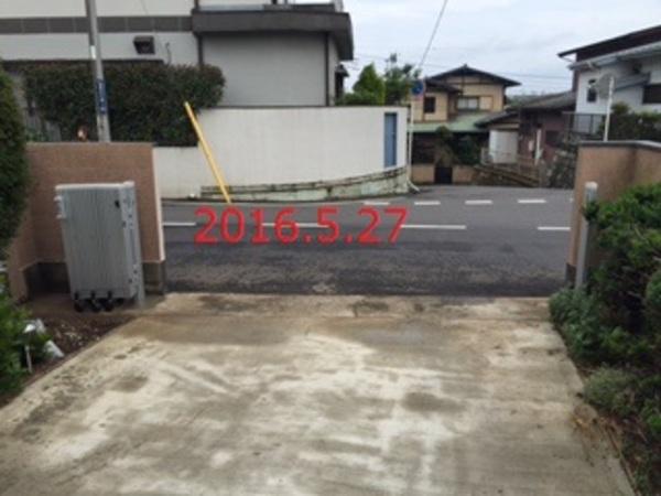 千葉県柏市 O様邸 伸縮ゲート取替工事!