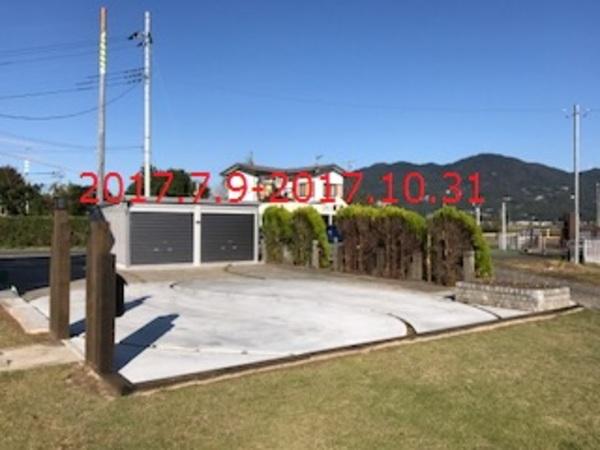 茨城県桜川市 S様邸 ガレージ設置及び駐車スペース拡張工事