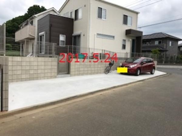 茨城県常総市 O様邸 新築外構工事!