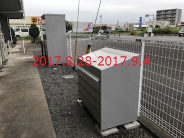茨城県つくばみらい市 L様 小型物置&ダストボックス施工!