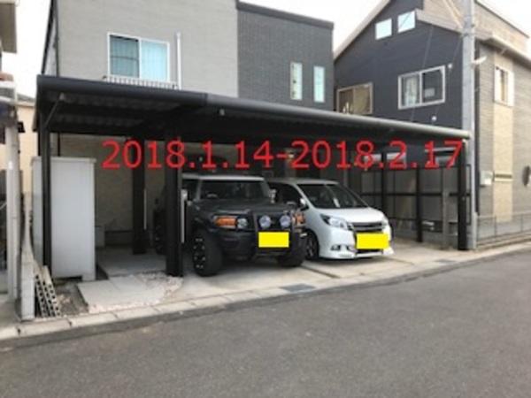 千葉県印西市 M様邸 折板屋根カーポート「G-1ss」施工!