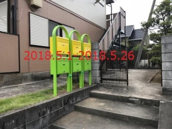 千葉県成田市 P様 アパート集合ポスト取替工事!
