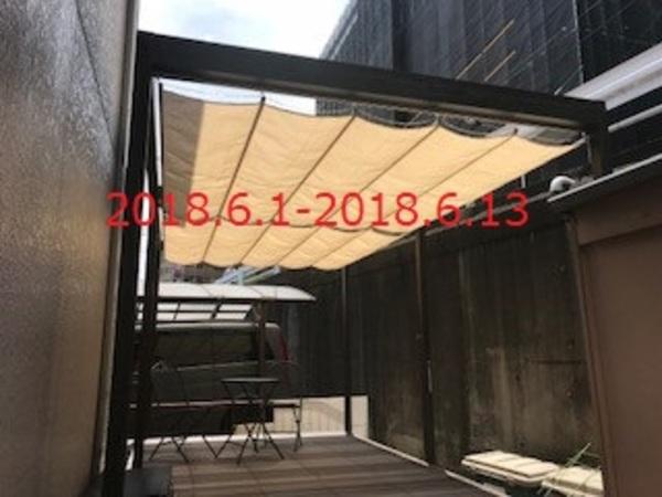 千葉県松戸市 M様邸 タカショーロール式開閉シェード取付!