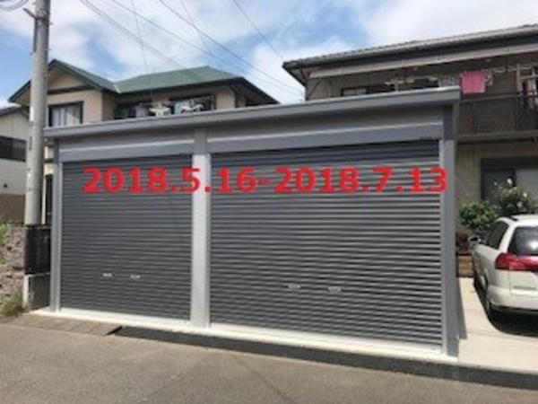 茨城県常総市 S様邸 イナバ「ガレーディア」施工!