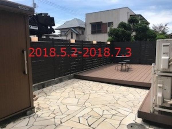 千葉県浦安市 H様邸 天然木解体撤去→マイティウッド施工!