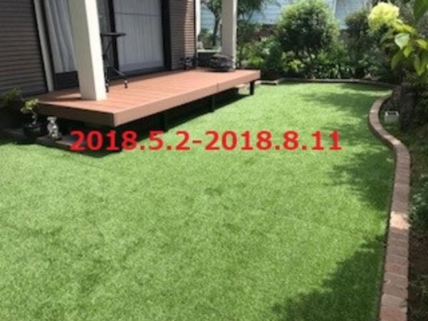 千葉県鎌ケ谷市 N様邸 デッキ・レンガ・人工芝でチェンジ!