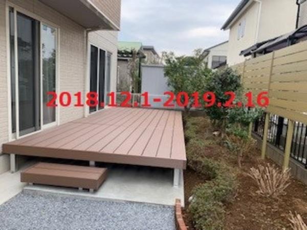 茨城県つくばみらい市 T様邸 お庭をプライベート空間へ!
