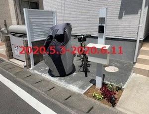 千葉県柏市 H様邸 駐輪スペースを造ります!