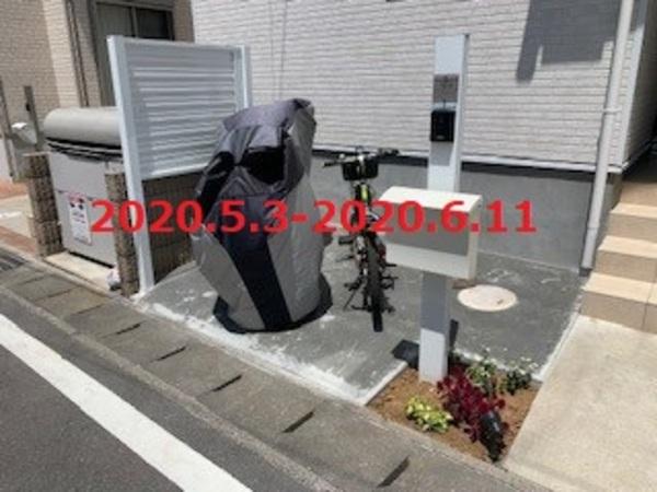 千葉県柏市 H様邸 駐輪スペースを造ります!のサムネイル