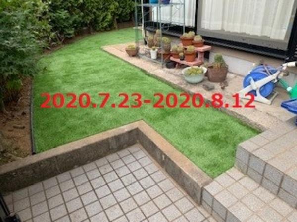 茨城県龍ヶ崎市 K様邸 人工芝と砂利敷きでお手入れ簡単に!
