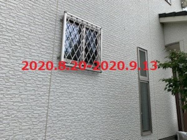 茨城県龍ヶ崎市 樹脂ウッドデッキ&面格子施工!