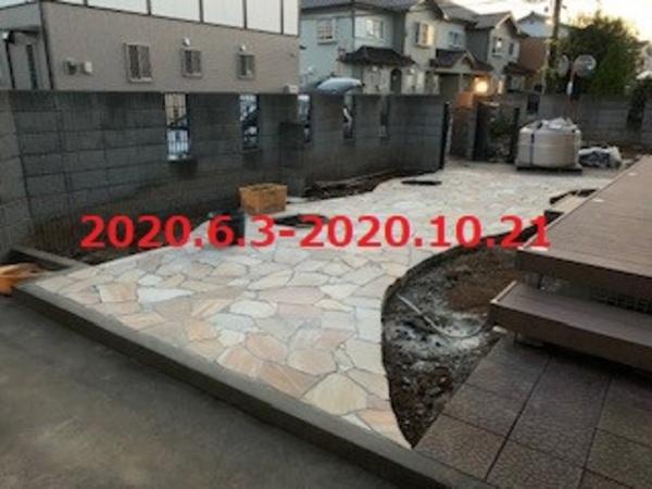 茨城県牛久市 T様邸 お庭をイメージチェンジします!のサムネイル