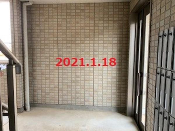 茨城県つくばみらい市 集合住宅様 宅配ボックス設置工事!のサムネイル